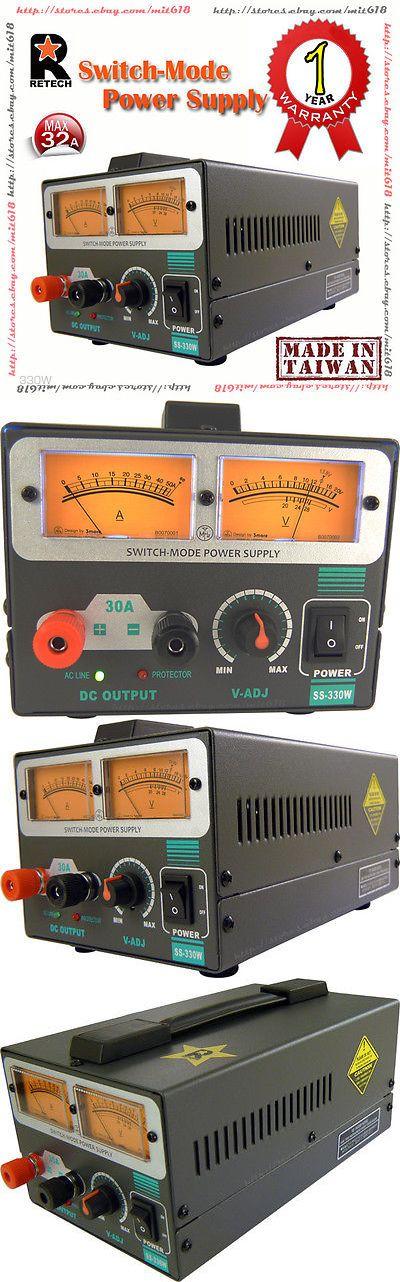 Power Supplies: Retech Ss-330W Switch-Mode Dc Power Supply 5~15V Max 32 Amp Ham Hf Radio 13.8 V -> BUY IT NOW ONLY: $159.99 on eBay!
