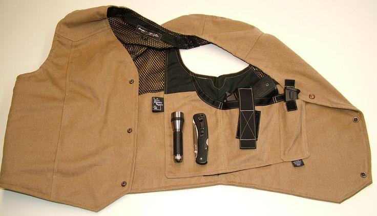 concealed carry vest summer - Google Search