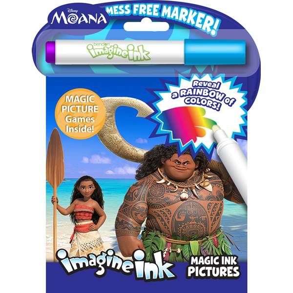 bendon moana imagine ink magic ink pictures from blains farm and fleet coloring booksbirthday - Imagine Ink Coloring Book