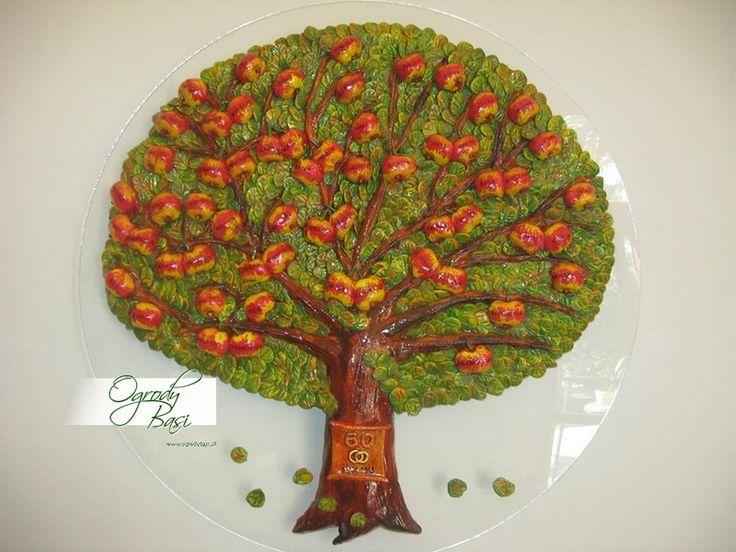 Prezent na 60 rocznicę ślubu, drzewo genealogiczne rodziny www.ogrodybasi.pl  #prezent #rocznica #25 #30 #40 #50 #60 #złote #gody #urodziny #podziękowanie