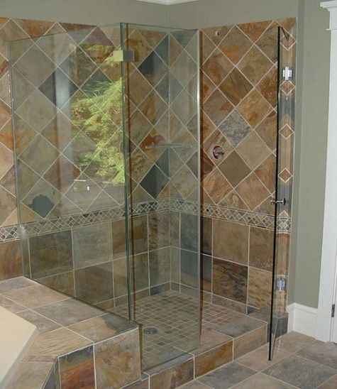 7 best Showers images on Pinterest | Bathroom, Bathrooms and Master ...