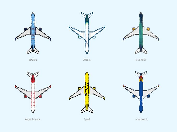 Airline Liveries by Ryan Duffey