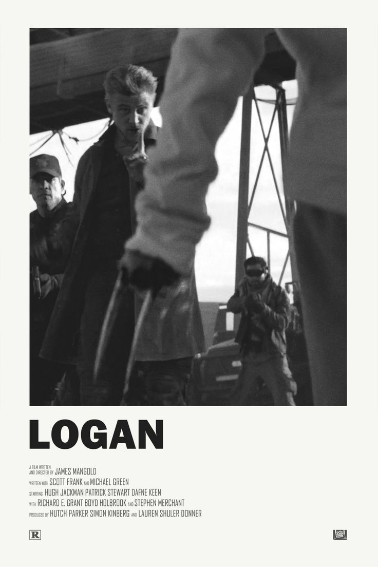 Logan alternative movie poster