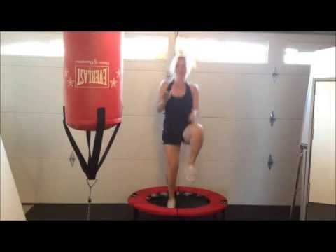 Rebounder Exercises Tabata Workout I Maybe a bit too intense for beginners. Add resting time if necessary