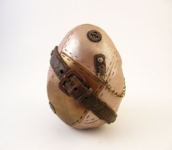 Steampunk Decorative Egg  Dragon Egg by dynamicalley on Etsy, $25.00