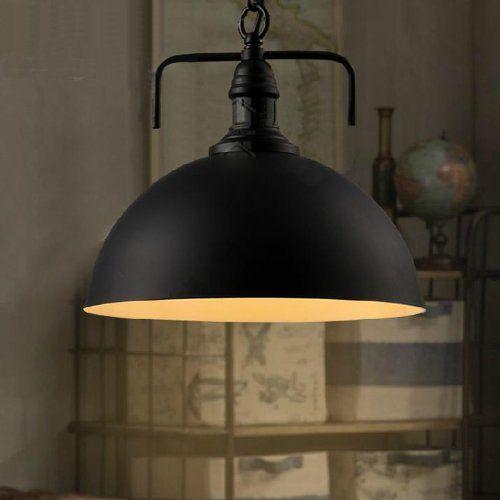 Ecopower Industrial Elegant Black Shade Modern1 Light