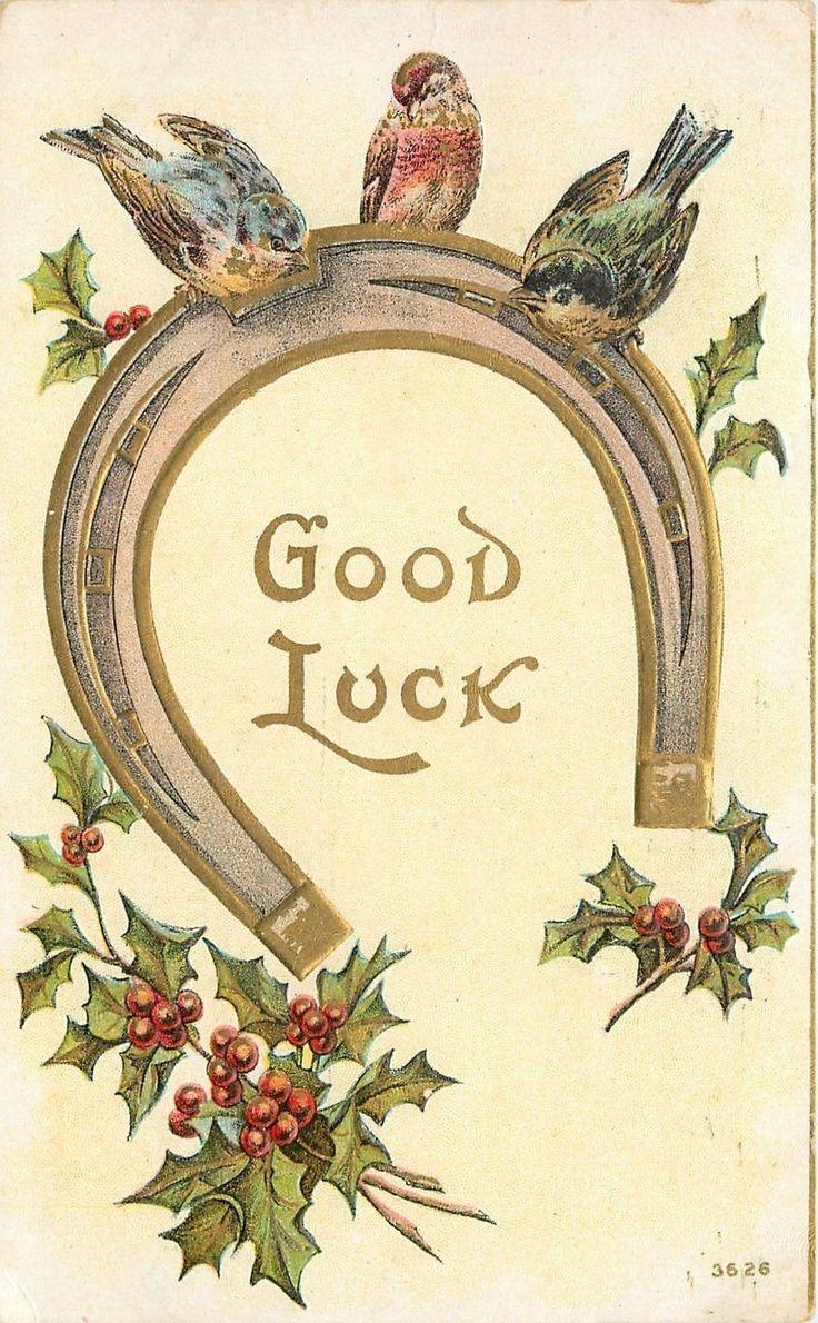 Vintage Good Luck