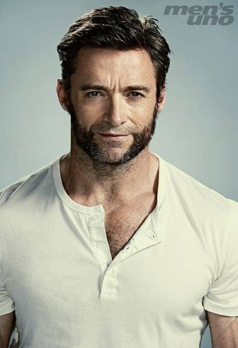 Hugh Jackman Men's Uno June 2013