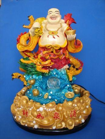 Buddha Water Fountain with Dragon