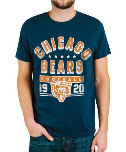 Chicago Bears Kickoff Crew T-Shirt #TShirts #CustomShirts #BandTees