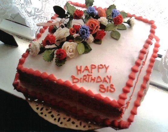 Happy Birthday Cake Sister Quotes