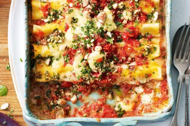 Fresh tomato cannelloni main image