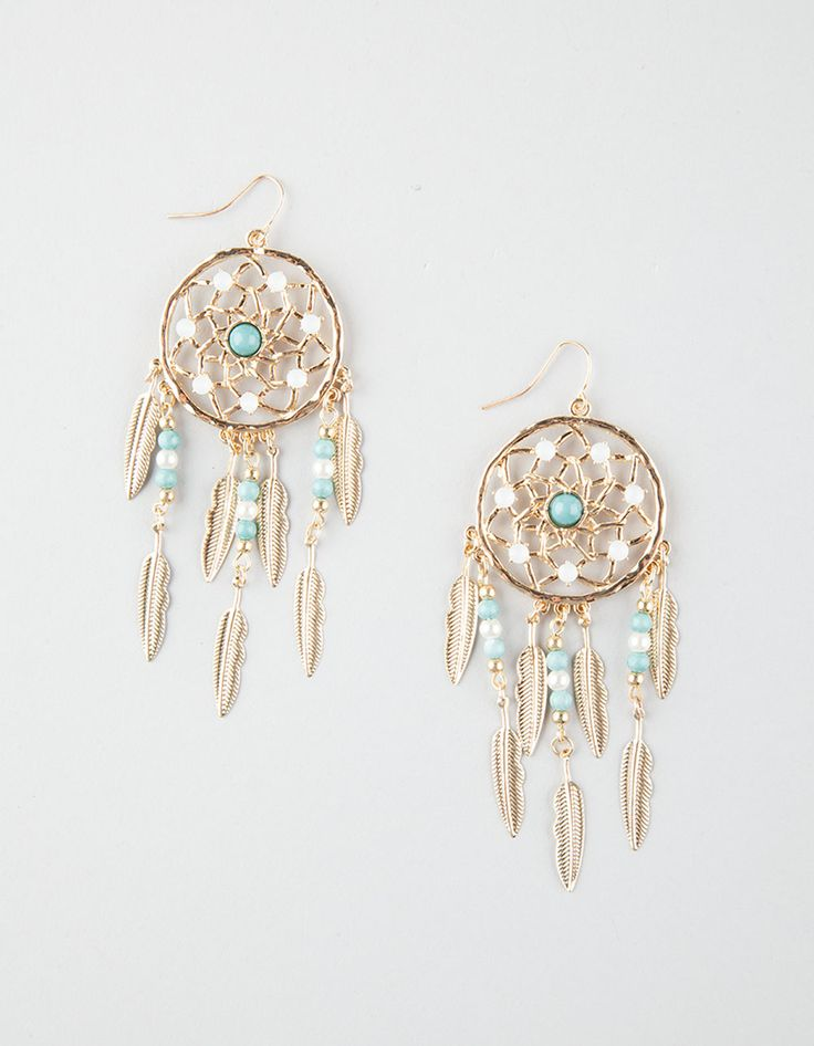 FULL TILT Multi Dream Catcher Earrings 265760621 | Earrings