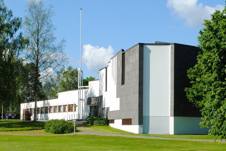 Alajärvi Town Hall, Finland (1966) | Alvar Aalto