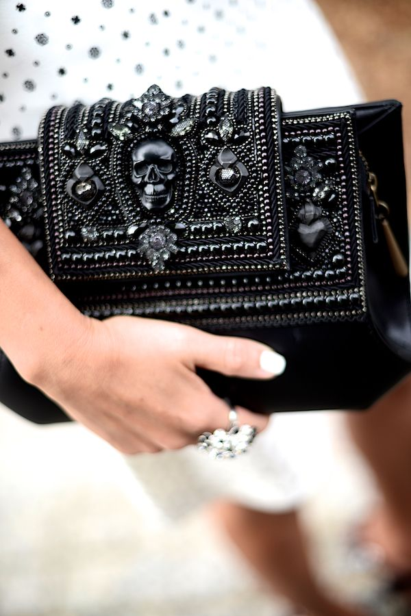 #McQueen Clutch #genius  #CassyLondon #UnusualStyle