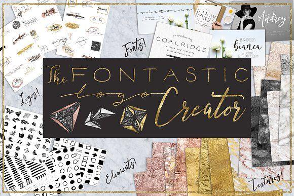 The Fontastic Logo Creator by Studio Denmark on @creativemarket