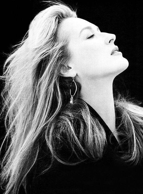 Meryl Streep photographed by Brigitte Lacombe, 1988.