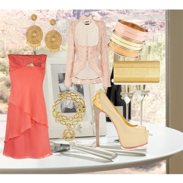 the reception #1, created by ajapuya on Polyvore