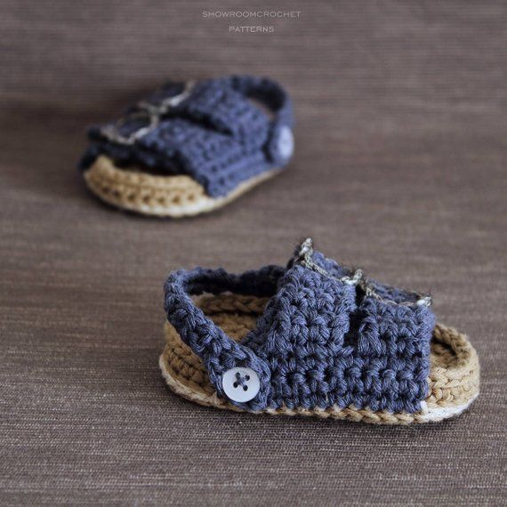 Crochet Baby Style SandalsBebe PatternBirkenstock Sandalias 0Nwmn8