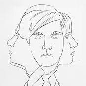 Andy Warhol, Self-Portrait, ca. 1953