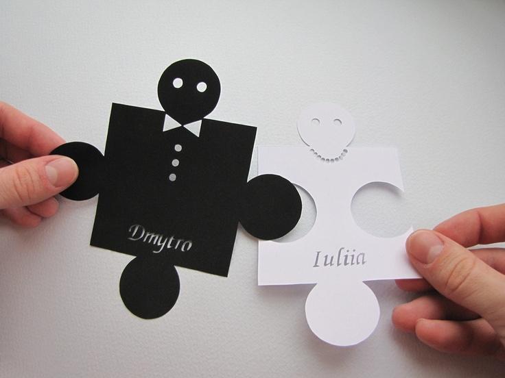 Puzzle Love Handmade Original Papercut
