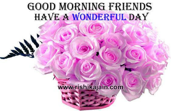Good Morning All Friends Sms : Good morning quotes with flowers friends