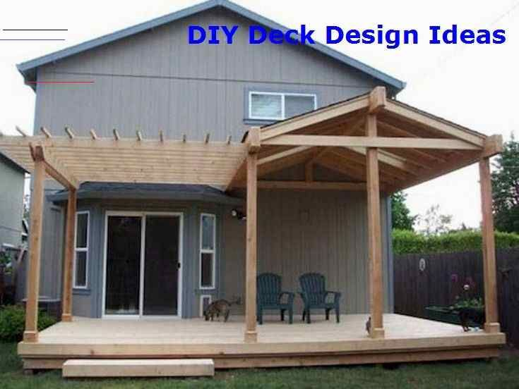 Build Your Deck And Save On The Cost Hinterhofterrassendesigns In 2020 Budget Patio Outdoor Patio Decor Outdoor Patio Ideas Backyards