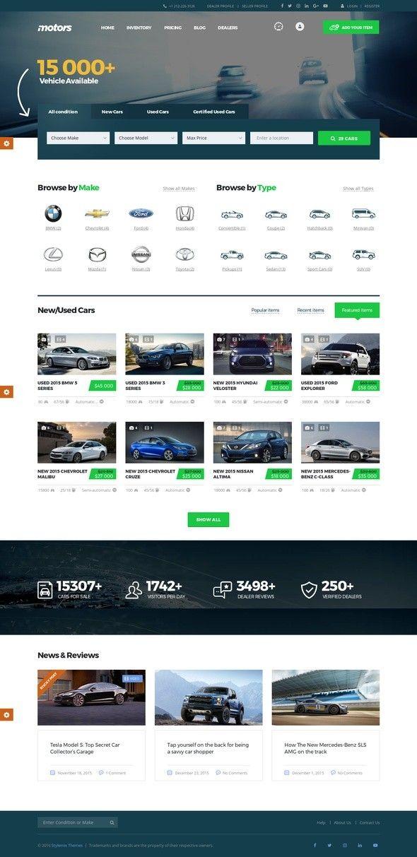 Motors Automotive Cars Vehicle Boat Dealership Classifieds