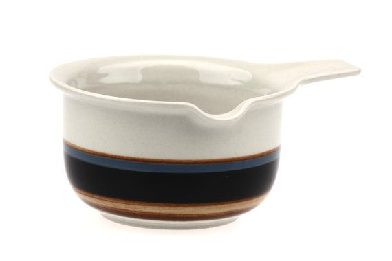 Arabia of Finland Taika Open Sauce Boat Gravy by fcollectables