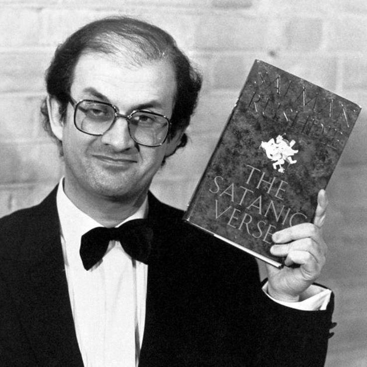 Image result for iran ayatollah khomeini calls on muslims to kill author salman rushdie