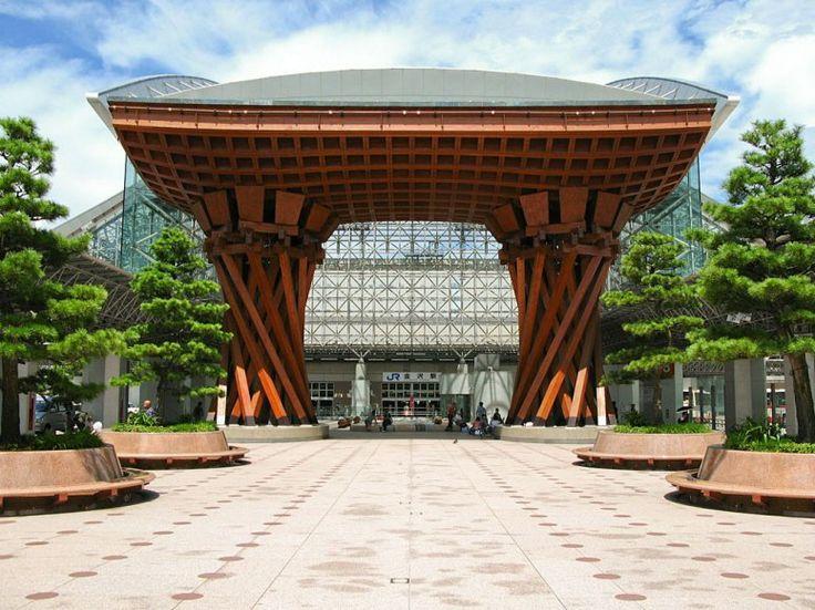 The World's Most Beautiful Train Stations ::: Kanazawa Station  Kanazawa, Japan