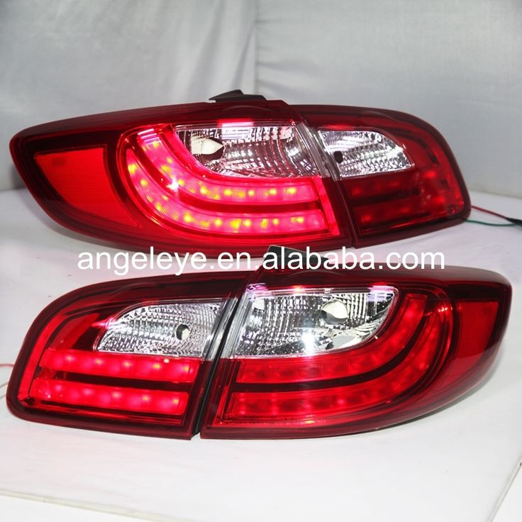 249.99$  Buy here - http://alikwg.worldwells.pw/go.php?t=32715788504 - For Hyundai Santa Fe LED Tail Lamp rear lights 2006-2012 year Red White Color LF 249.99$