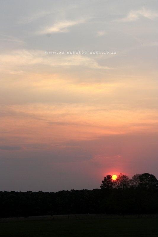 Zulu sunset