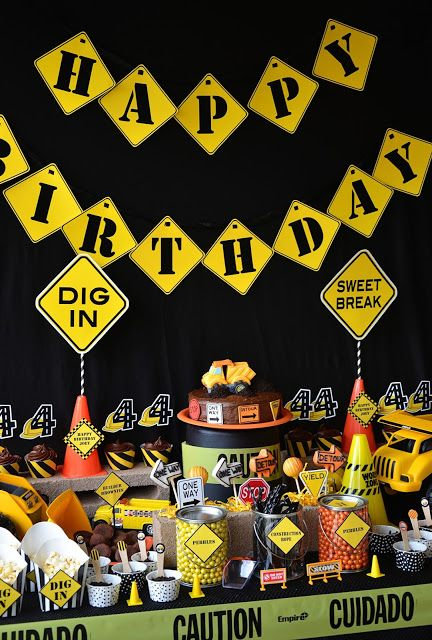 Construction Party- Amanda's Parties To Go
