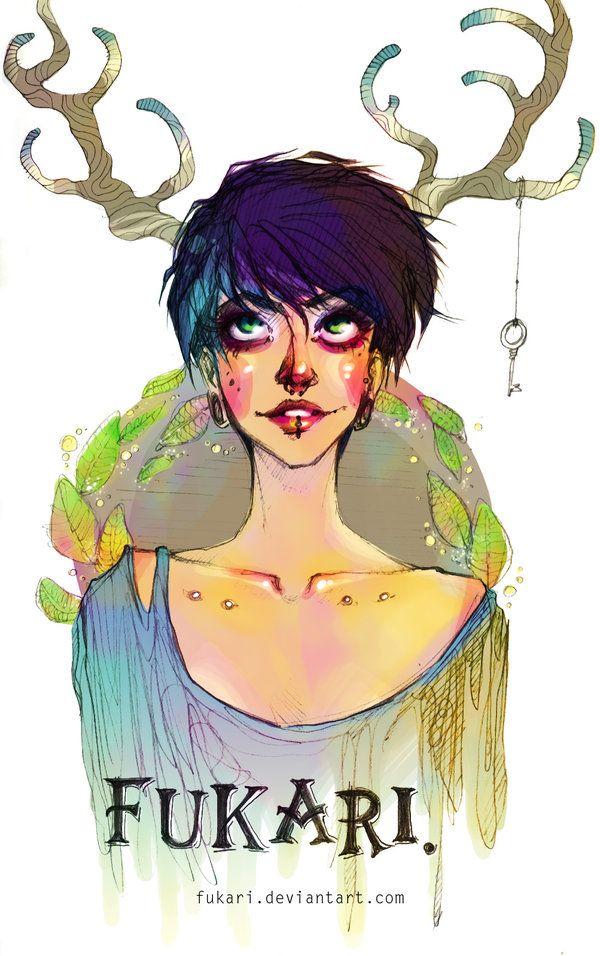 selfportrait by *Fukari on deviantART