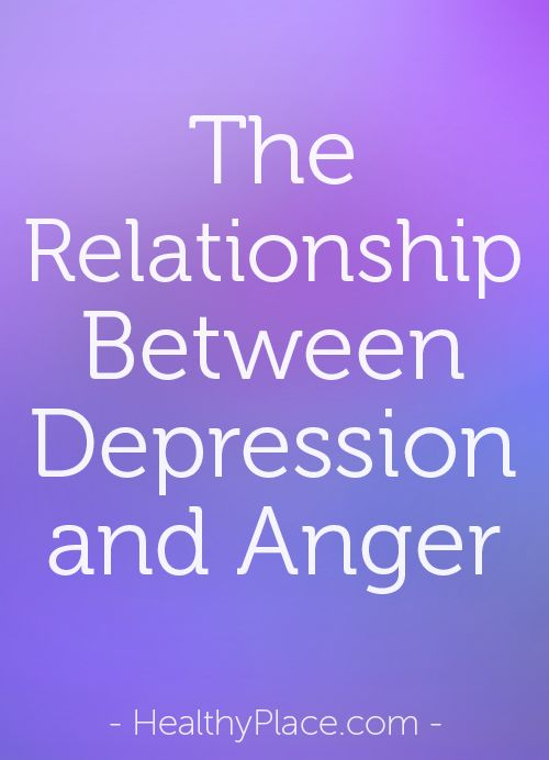 dating someone with depression and anger
