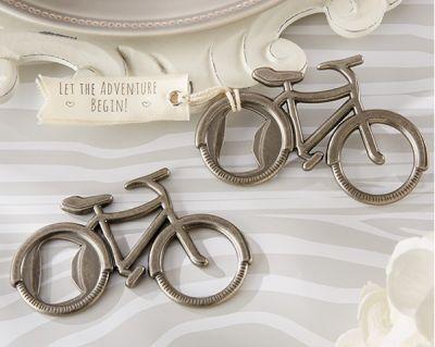 Abrebotellas en forma de bicicleta #vintage para regalar como detalles de #boda a los hombres