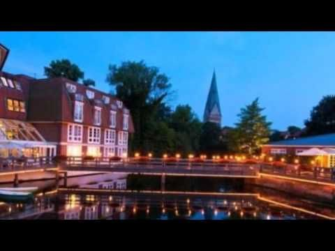 Romantik Hotel Bergström - Lüneburg - Visit http://germanhotelstv.com/bergstrom This hotel is set beside the River Ilmenau a 5-minute walk from Lüneburg Train Station. It offers free Wi-Fi a free fitness centre with pool and 3 restaurants with riverside terraces. -http://youtu.be/E4PrMpvCHlY