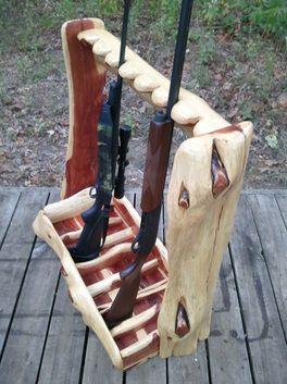 Timber Ranch Logworks Gun Rack