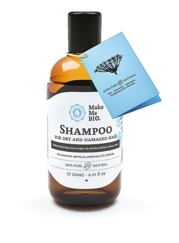 Szampon do włosów suchych i zniszczonych - Nieprzyzwoicie naturalny sklep dla kobiet lubiących siebie