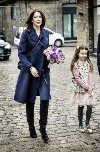 """HRH Crown Princess Mary, wearing our bangle """"Fine Incisions"""" - """"Talentprisen-Designers Nest"""""""