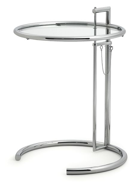 Table d'appoint E1027 de Eileen Gray (1927)