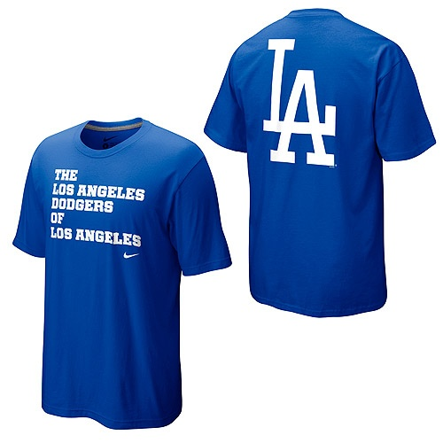 """The Los Angeles Dodgers of Los Angeles"" ... love it"