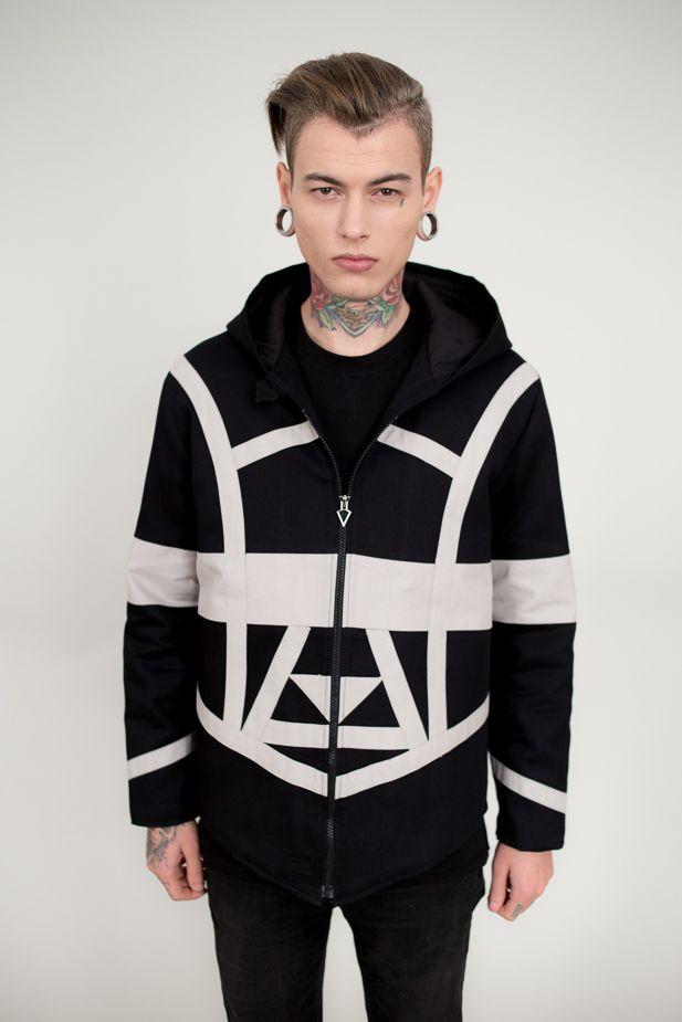 Men fashion | Streetstyle | jacket | logo design | branding