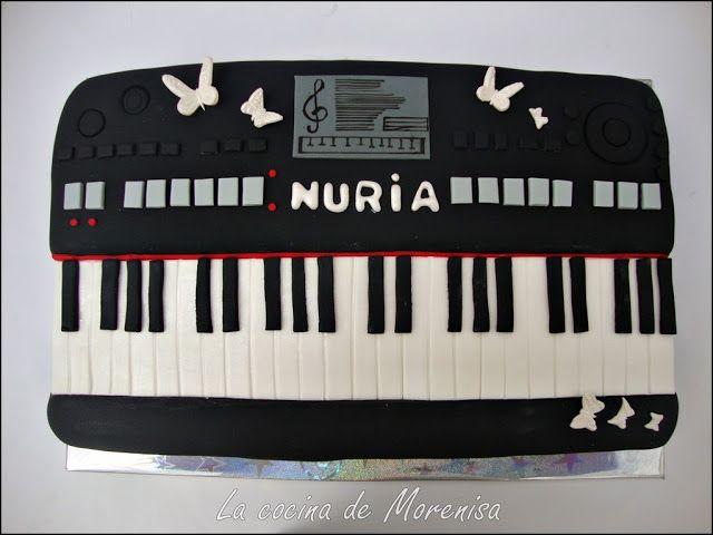 LA COCINA DE MORENISA: Tartas Musicales & Sin Lactosa