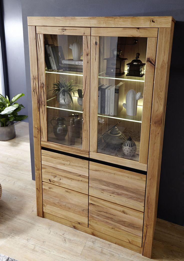 Die besten 25+ Moderne vitrinen Ideen auf Pinterest Holzvitrinen - wohnzimmer vitrine weis hochglanz