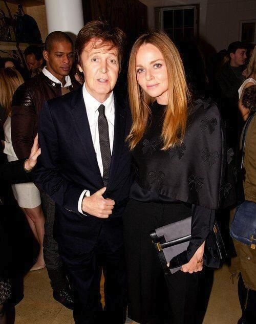 Paul McCartney and Stella McCartney