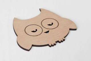 gloopy owl coaster