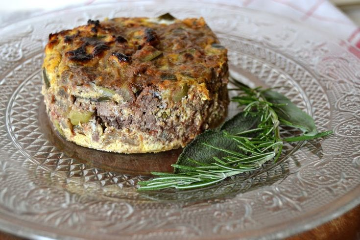 """Chicken liver and courgettes """"frittata"""""""