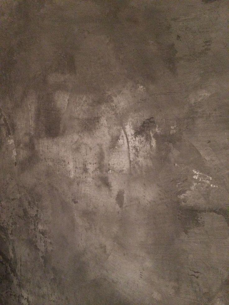 Concrete look stucco by L'Authentique Paints & Interior